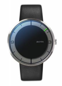 [ボッタデザイン]Botta-Design NOVA CARBON Automatic 44mm Watch, BottaDesign, Leather 859010