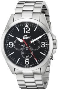 [ラコステ]Lacoste  Montreal Analog Display Japanese Quartz Silver Watch 2010808 メンズ