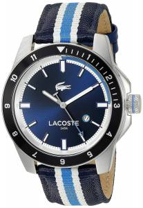 [ラコステ]Lacoste 腕時計 Durban Analog Display Japanese Quartz Blue Watch 2010809 メンズ