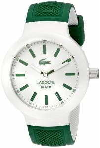 [ラコステ]Lacoste 腕時計 BORNEO Analog Display Japanese Quartz Green Watch 2010816 メンズ