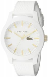 [ラコステ]Lacoste  Lacoste.12.12 Analog Display Japanese Quartz White Watch 2010819 メンズ