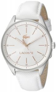 [ラコステ]Lacoste  Philadelphia Analog Display Japanese Quartz White Watch 2000900