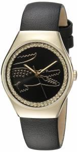 [ラコステ]Lacoste  VALENCIA MEDIUM Analog Display Japanese Quartz Black Watch 2000897