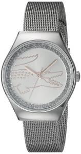 [ラコステ]Lacoste  VALENCIA MEDIUM Analog Display Japanese Quartz Silver Watch 2000895
