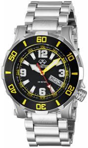 [リアクター]REACTOR 腕時計 Atlas Analog Display Quartz Black Watch 45509 ユニセックス
