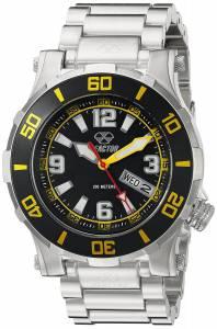 [リアクター]REACTOR  Atlas Analog Display Quartz Silver Watch 45007 ユニセックス