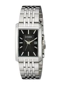 [シチズン]Citizen 腕時計 Rectangular SilverTone Bracelet Watch BH1671-55E メンズ