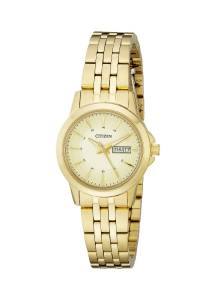 [シチズン]Citizen  Analog Display Japanese Quartz Gold Watch EQ0603-59P レディース