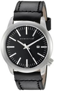[モーメンタム]Momentum  LOGIC SS Analog Display Japanese Quartz Black Watch 1M-SP10B2B