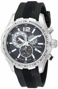[ノーティカ]Nautica 腕時計 NST 30 Analog Display Quartz Black Watch NAD15512G メンズ