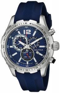 [ノーティカ]Nautica 腕時計 NST 30 Analog Display Quartz Blue Watch NAD15513G メンズ