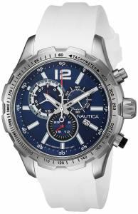 [ノーティカ]Nautica 腕時計 NST 30 Analog Display Quartz White Watch NAD15511G メンズ
