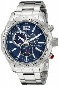 [ノーティカ]Nautica 腕時計 NST 30 Analog Display Quartz Blue Watch NAD18503G メンズ