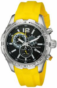 [ノーティカ]Nautica 腕時計 NST 30 Analog Display Quartz Yellow Watch NAD15514G メンズ