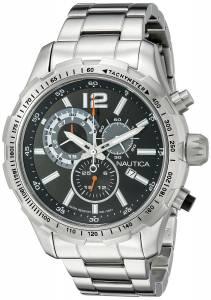 [ノーティカ]Nautica 腕時計 NST 30 Analog Display Quartz Black Watch NAD18504G メンズ