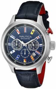 [ノーティカ]Nautica  NCT 16 FLAGS Analog Display Quartz Blue Watch NAD16520G メンズ