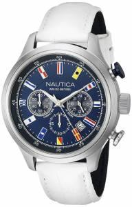 [ノーティカ]Nautica  NCT 16 FLAGS Analog Display Quartz Blue Watch NAD16521G メンズ