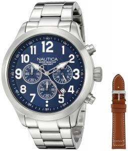 [ノーティカ]Nautica  NCC 01 Chrono Analog Display Quartz Blue Watch NAD18509G メンズ