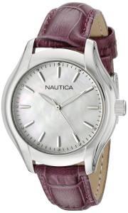 [ノーティカ]Nautica  NCT 18 MID Analog Display Quartz White Watch NAD11004M レディース