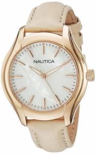 [ノーティカ]Nautica  NCT 18 MID Analog Display Quartz Beige Watch NAD12000M レディース