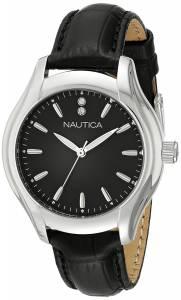 [ノーティカ]Nautica  NCT 18 MID Analog Display Quartz Black Watch NAD11003M レディース