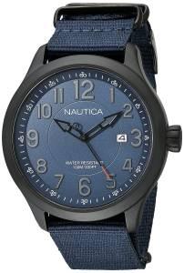[ノーティカ]Nautica 腕時計 NCC 01 Date Analog Display Quartz Blue Watch NAD14519G メンズ