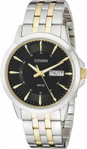 [シチズン]Citizen 腕時計 TwoTone Stainless Steel Bracelet Watch BF2018-52E メンズ
