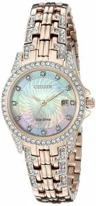 [シチズン]Citizen  Analog Display Japanese Quartz Pink Watch EW1228-53D レディース