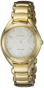 [シチズン]Citizen  Analog Display Japanese Quartz Gold Watch FE2072-89A レディース