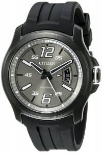 [シチズン]Citizen  Drive from Citien HTM Analog Display Japanese Quartz Black Watch AW1354-15H