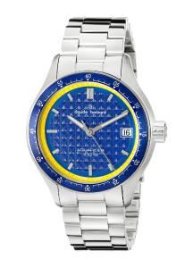 [クロードベルナール]claude bernard Analog Display Swiss Quartz Silver Watch 70168 3MB BUJ
