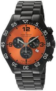 [クロードベルナール]claude bernard  Analog Display Swiss Quartz Black Watch 10202 37N ON