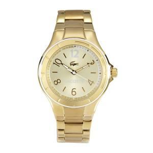 [ラコステ]Lacoste 腕時計 Acapulco Goldtone Analog Quartz Watch 2000880 レディース