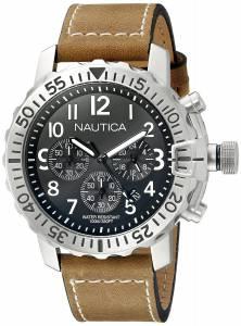 [ノーティカ]Nautica  NMS 01 Analog Display Analog Quartz Brown Watch NAD18506G メンズ