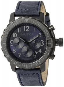 [ノーティカ]Nautica  NMS 01 Analog Display Analog Quartz Blue Watch NAD21005G メンズ