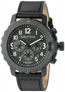[ノーティカ]Nautica  NMS 01 Analog Display Analog Quartz Black Watch NAD21006G メンズ