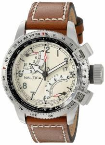 [ノーティカ]Nautica  BFC Flyback Chrono Analog Display Analog Quartz Brown Watch NAD24504G