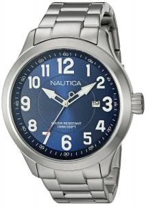 [ノーティカ]Nautica  NCC 01 Date Analog Display Analog Quartz Silver Watch NAD12524G メンズ