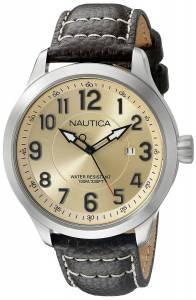 [ノーティカ]Nautica  NCC 01 Date Analog Display Analog Quartz Brown Watch NAD10006G メンズ