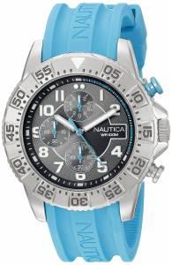 [ノーティカ]Nautica  NSR 104 Analog Display Analog Quartz Blue Watch NAD16511G メンズ