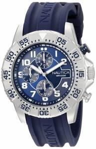 [ノーティカ]Nautica  NSR 104 Analog Display Analog Quartz Blue Watch NAD16512G メンズ