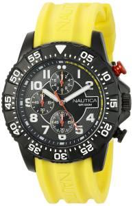 [ノーティカ]Nautica  NSR 104 Analog Display Analog Quartz Yellow Watch NAD17515G メンズ