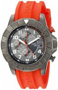 [ノーティカ]Nautica  NSR 104 Analog Display Analog Quartz Orange Watch NAD17514G メンズ