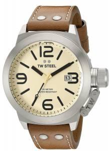 [ティーダブルスティール]TW Steel  Analog Display Quartz Brown Watch CS12 メンズ