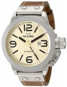 [ティーダブルスティール]TW Steel  Analog Display Quartz Brown Watch CS16 メンズ