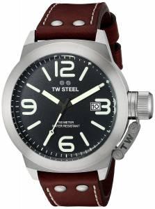 [ティーダブルスティール]TW Steel  Analog Display Quartz Brown Watch CS22 メンズ