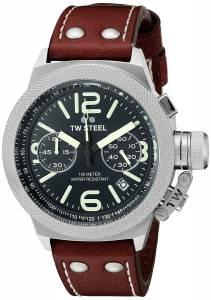 [ティーダブルスティール]TW Steel  Analog Display Quartz Brown Watch CS23 メンズ