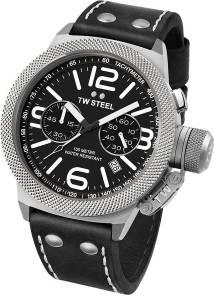 [ティーダブルスティール]TW Steel 腕時計 Watch Chronograph Canteen CS3 メンズ
