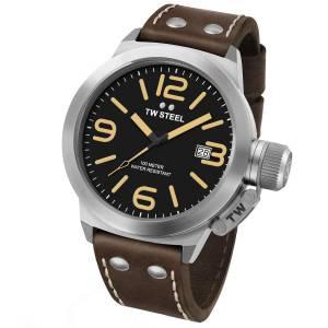 [ティーダブルスティール]TW Steel  Analog Display Quartz Brown Watch CS31 メンズ