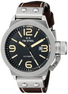 [ティーダブルスティール]TW Steel  Analog Display Quartz Brown Watch CS35 メンズ